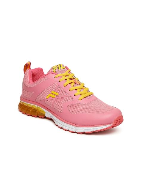 FILA Women Peach-Coloured Running Shoes