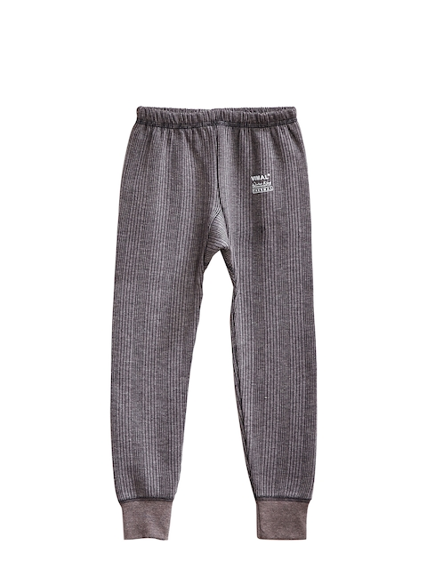 VIMAL Boys Grey Thermal Bottoms