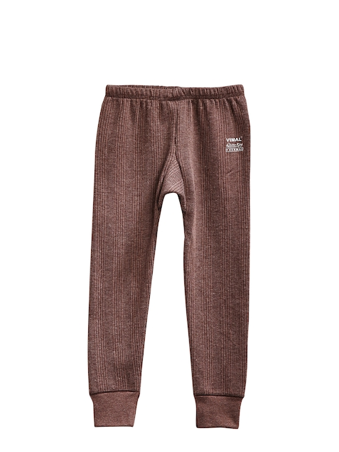 VIMAL Boys Brown Thermal Bottoms