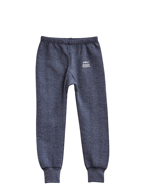 VIMAL Boys Navy Blue Thermal Bottoms