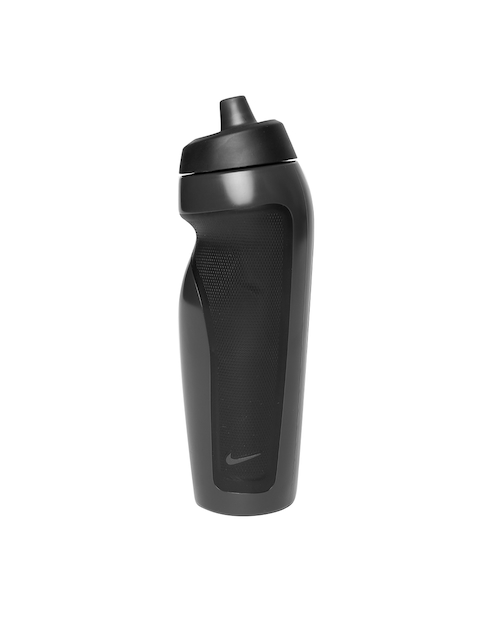Nike Unisex Charcoal Grey & Black Sport Water Bottle