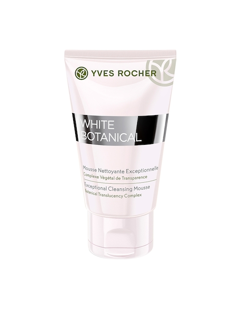YVES ROCHER Unisex White Botanical Exceptional Cleansing Mousse 125 ml