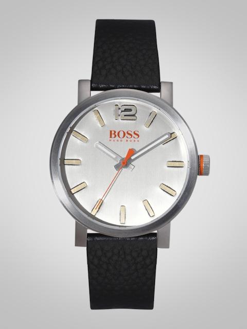 Hugo Boss Men Silver-Toned Analogue Watch 1550035