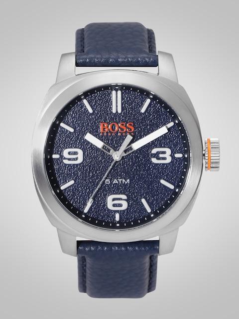 Hugo Boss Men Navy Blue Analogue Watch 1513410