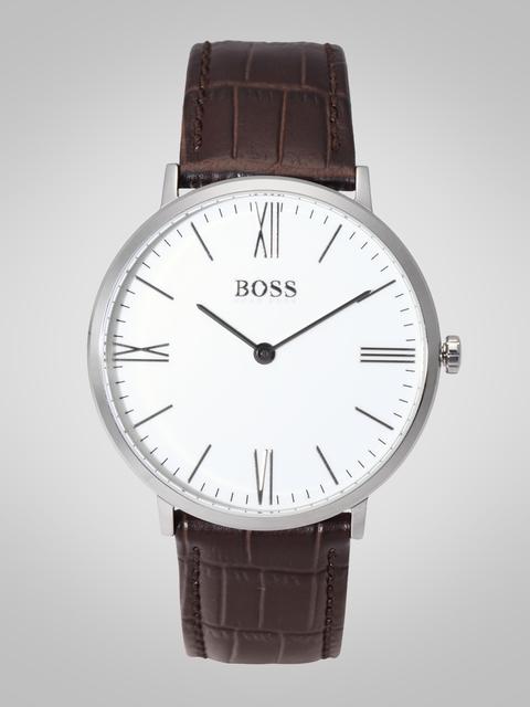 Hugo Boss Men White Analogue Watch 1513373
