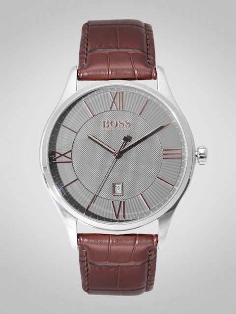Hugo Boss 1513484 Charcoal Grey Analog Men's Watch