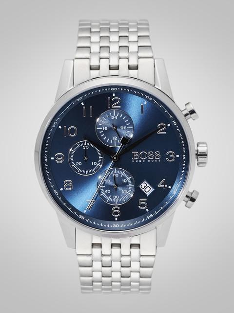 Hugo Boss Men Blue Chronograph Analogue Watch 1513498