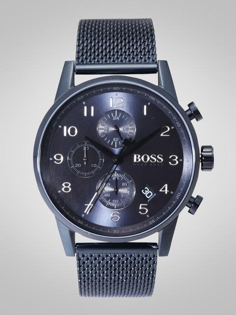 Hugo Boss Men Navy Blue Multifunction Analogue Watch 1513538