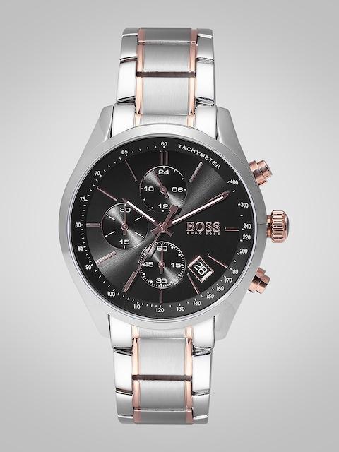 Hugo Boss Men Black Chronograph Analogue Watch 1513473