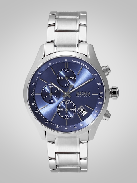 Hugo Boss Men Blue Chronograph Analogue Watch 1513478