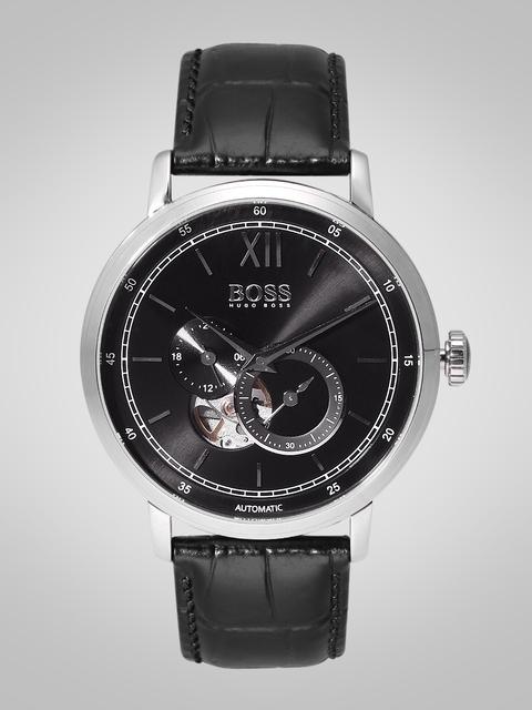 Hugo Boss 1513504 Black Dial Analog Men's Watch