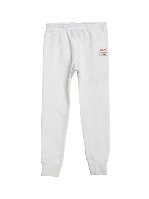 VIMAL Girls White Thermal Pant