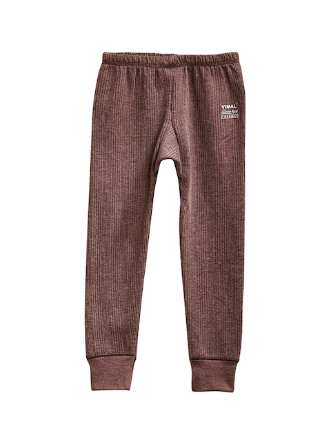 VIMAL Girls Brown Thermal Pant