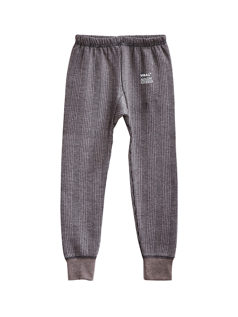 VIMAL Girls Grey Thermal Pant
