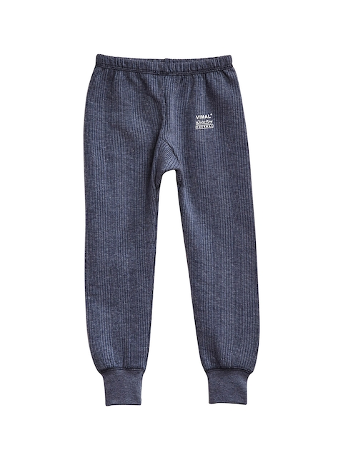 VIMAL Girls Navy Blue Thermal Pant