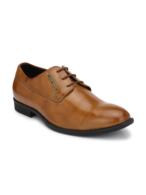 Alberto Torresi Men Tan Derbys Formal Shoes