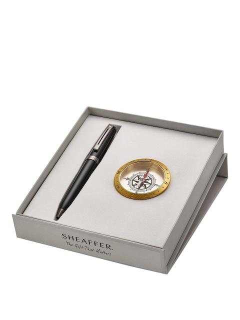 Sheaffer Unisex Black Ballpoint Pen with Compass
