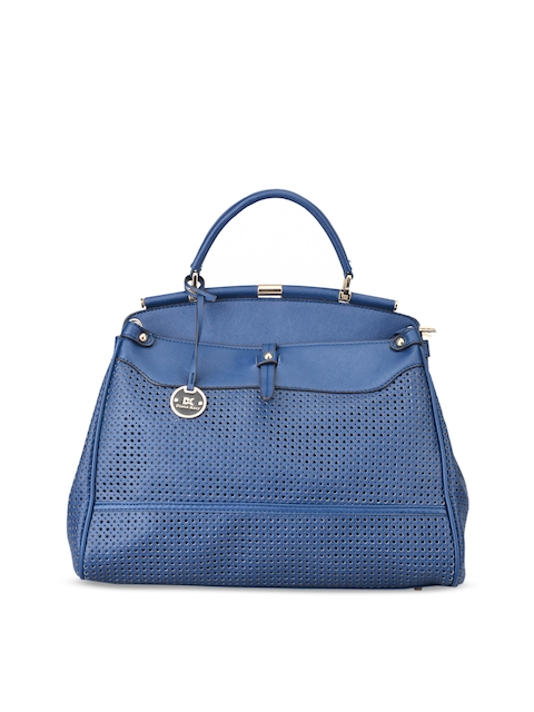 Diana Korr Blue Solid Handheld Bag