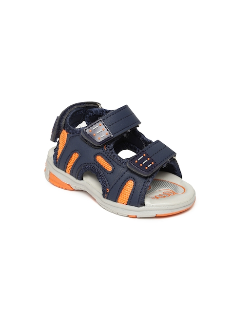 Fame Forever by Lifestyle Boys Navy Blue Comfort Sandals