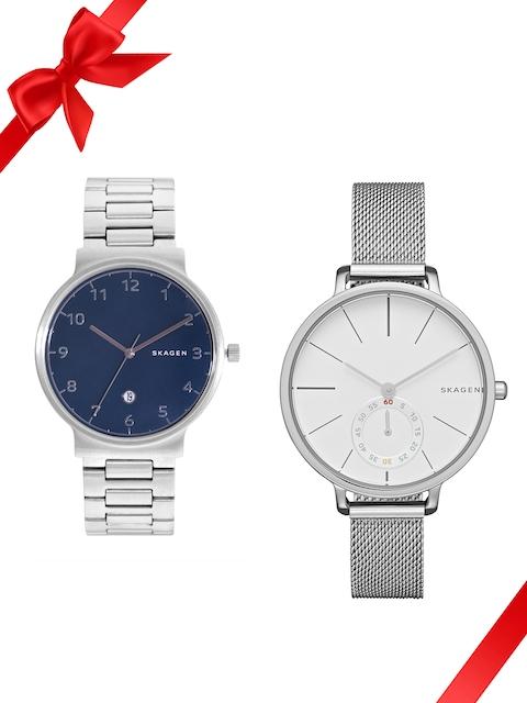 SKAGEN Set of 2 His & Her Watches