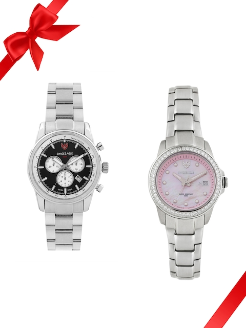 Swiss Eagle Set of 2 His & Her Watches