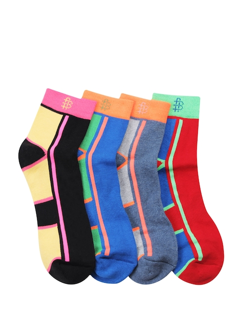 Bonjour Men Pack of 4 Assorted Socks