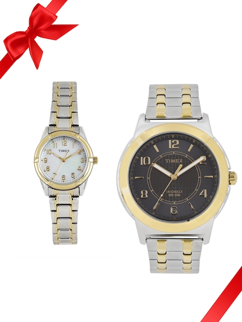 Timex Set of 2 His & Her Watches