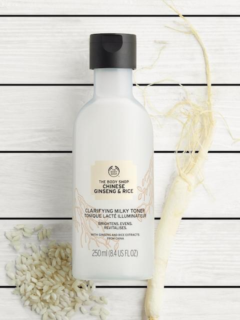 The Body Shop Unisex Chinese Ginseng & Rice Clarifying Milky Toner