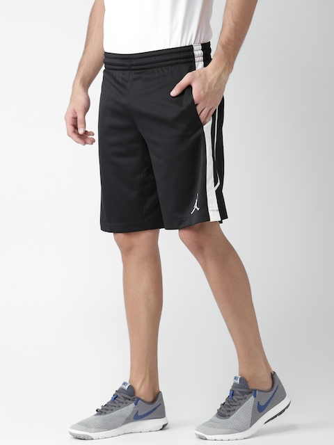 Nike Men Black Jordan Flight Basketball Shorts