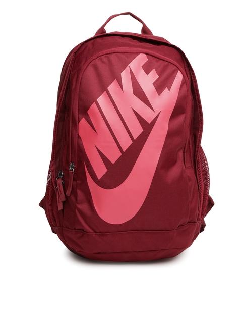 Nike Unisex Maroon Printed HAYWARD FUTURA Backpack