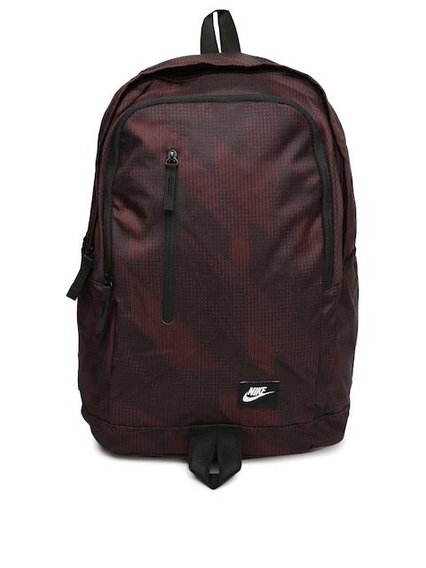 Nike Unisex Burgundy All Access Soleday Backpack