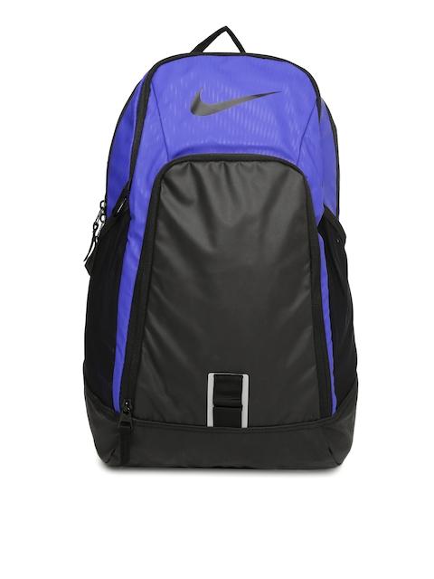 Nike Unisex Blue & Black Alpha Rev Colourblocked Backpack