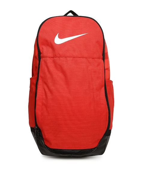 Nike Unisex Red Solid BRSLA XL Backpack