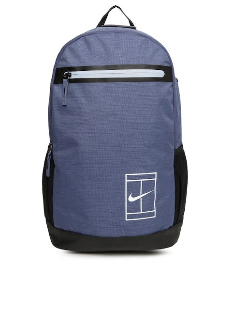 Nike Unisex Blue Solid NKCRT Laptop Backpack