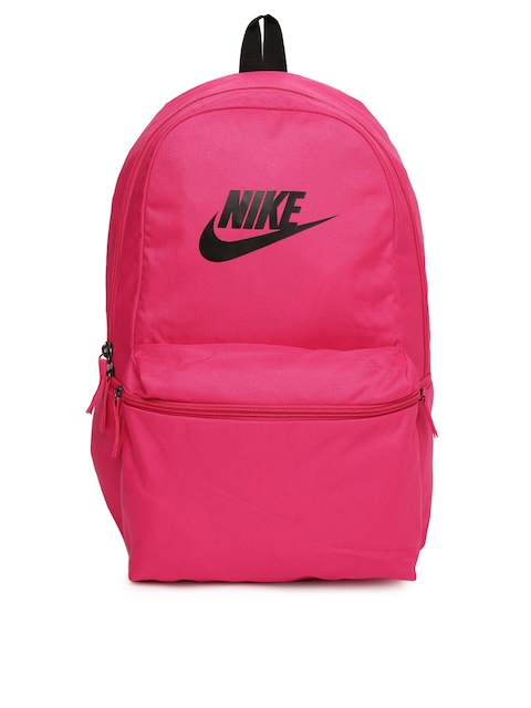 Nike Unisex Pink Heritage Laptop Backpack