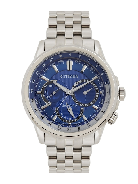 Citizen Men Blue Analogue Eco Drive Watch BU2021-69L