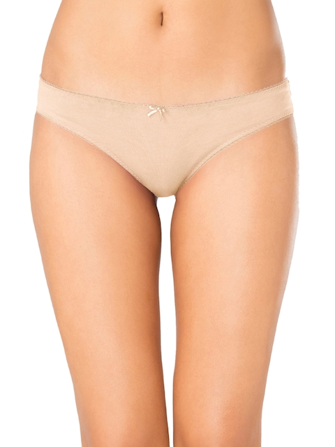 PrettySecrets Women Nude-Coloured Bikini Briefs P0004