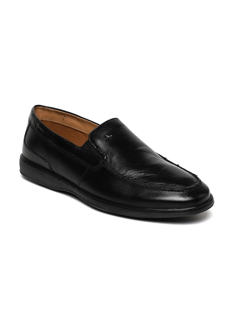 Arrow Men Black Carlin Formal Loafers