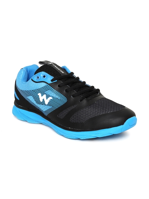 Wildcraft Men Black Colourblocked Nastas Travel Shoes