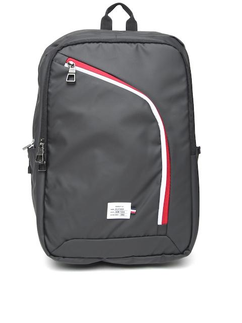 Tommy Hilfiger Unisex Black Laptop Backpack