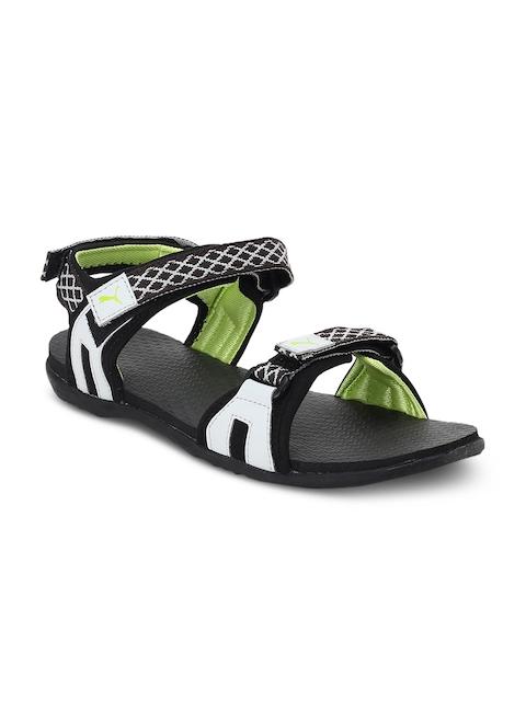 Puma Unisex Black & Grey Lyra IDP Comfort Sandals