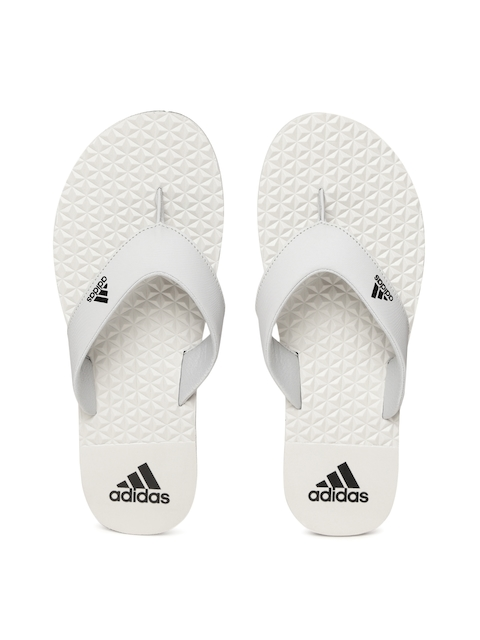 ADIDAS Men Grey BISE Thong Flip-Flops