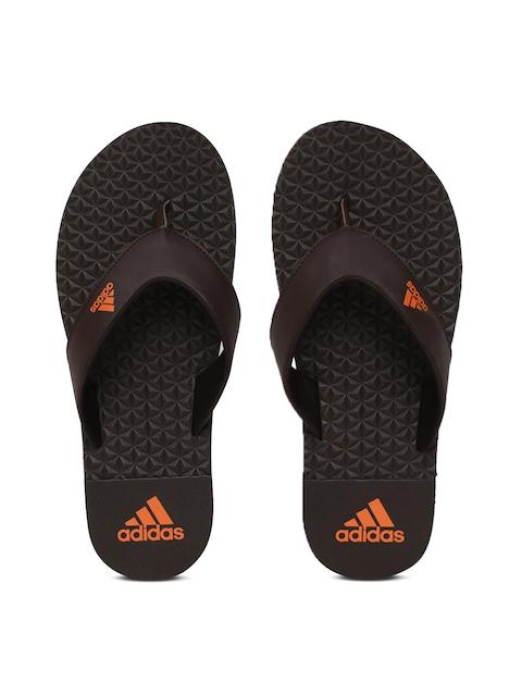 Adidas Men Brown Solid BISE Flip-Flops