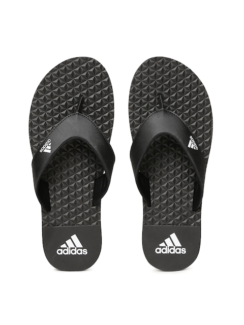 Adidas Men Black BISE Thong Flip-Flops