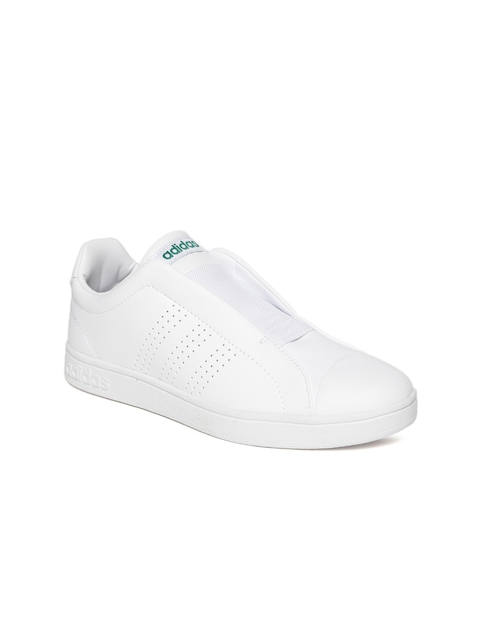 Adidas Women White Advantage Adapt Tennis Shoes