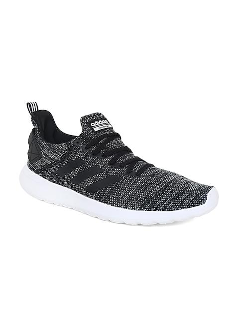 Adidas Men Black & Grey Lite Racer Byd Running Shoes