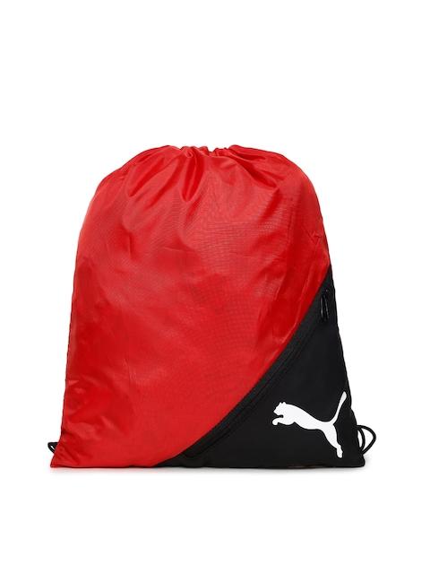 Puma Unisex Red & Black Colourblocked LIGA Gym Sack