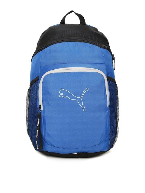 PUMA Unisex Blue Printed Echo IND Backpack