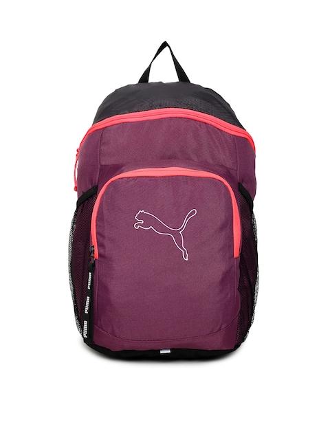 Puma Unisex Purple Echo Backpack IND Backpack