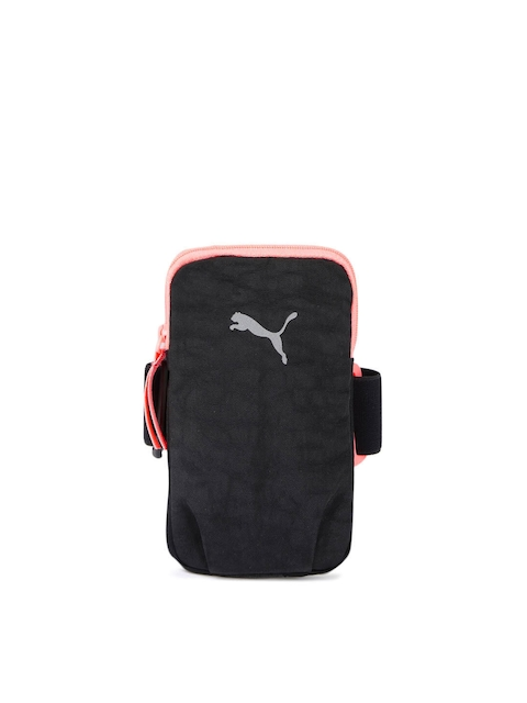 Puma Women Black Running & Training PR Arm Pocket